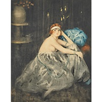 flappers (2 works) by william ablett