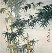 花鸟 by liang ji