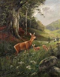rehe im wiesental by bernhard liebig