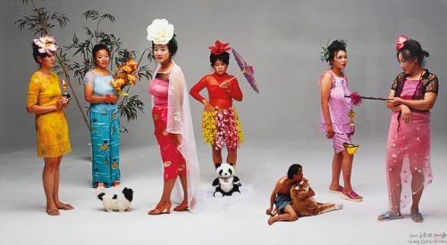 new women by wang qingsong