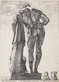 hercules farnese by hendrik goltzius