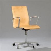 oxford swivel chair by arne jacobsen