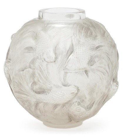 jarrón formosa by rené lalique