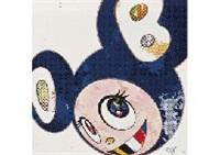 and thenx6 (marine blue: the superflat method) (+ 2 others; set of 3) by takashi murakami