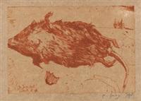 verschiedene darstellungen (3 works) by horst janssen