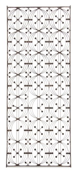 elevator grille (from the chicago stock exchange) by dankmar adler and louis sullivan