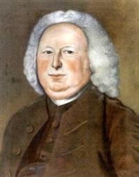 portrait of deacon jonathan simpson ward, old south church, boston by benjamin blyth