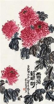 霜花照眼明 (flowers) by qi bingsheng