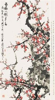 老梅又报一年春 by guan shanyue