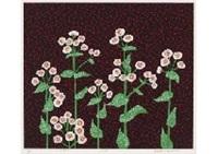 flowers (2) by yayoi kusama
