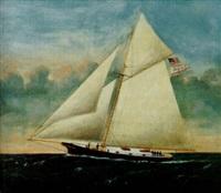 american one-masted sloop