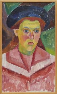 porträtt föreställande tyra gumpert by birger simonsson