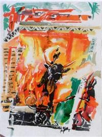 bali ritual by brett de palma