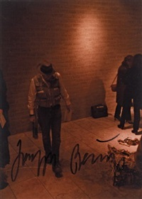 ohne titel (2 works for hasengrab) by klaus staeck and joseph beuys