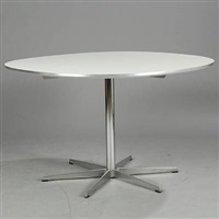 super circular table (model a704) by piet hein and arne jacobsen