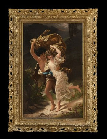 the storm by pierre auguste cot