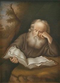 der eremit (by e. h. till) by salomon koninck