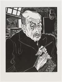 bildnis max liebermann (1957) by conrad felixmüller