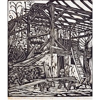 building (from song of the broad axe) by wharton h. esherick
