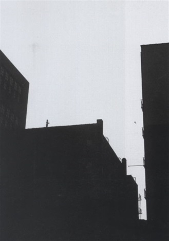 new york rooftops by sid avery