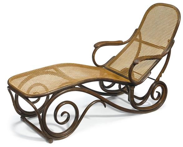 chaise longue thonet replica
