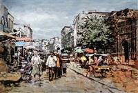 喀什葛尔老街之一 (kashi ge er street) by yalikun hazi