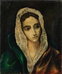 weibliche heilige by el greco