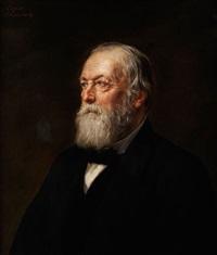 portrait eines bärtigen herren by friedrich august von kaulbach