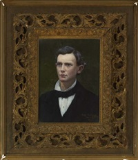 portrait of a gentleman by carl guthers gutherz