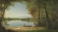 lake george by richard william hubbard