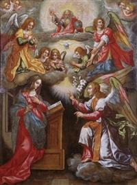 mariä verkündigung by hendrick de clerck