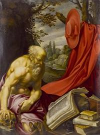 heiliger hieronymus by hendrick van somer