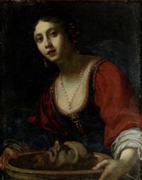 salome mit dem kopf johannes des täufers by simone pignoni