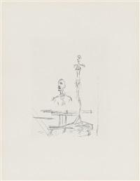 dans l'atelier (aus: paroles peintes) by alberto giacometti