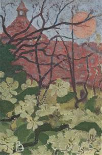 paysage stylisé (le grand-lemps) by pierre bonnard