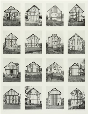 vier silos set of 4 by bernd and hilla becher