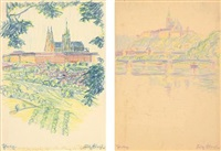 prag (2 works) by fritz bleyl