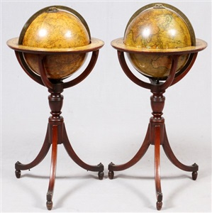 carys new terrestrial celestial globes early 19th c