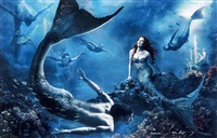 the little mermaid - where another world is just a wish away by annie leibovitz