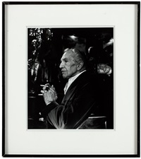 vincent price at the magic castle by helmut newton