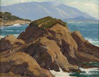 pebble beach by arthur hill gilbert