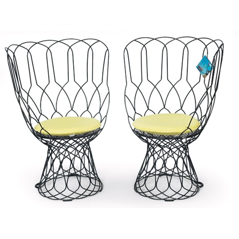 re-trouve chairs (pair) by patricia urquiola