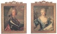 porträtt av greven och generalmajoren carl gustaf bielke by olof arenius