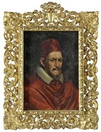 portrait papst innozenz x by diego rodríguez de silva y velásquez
