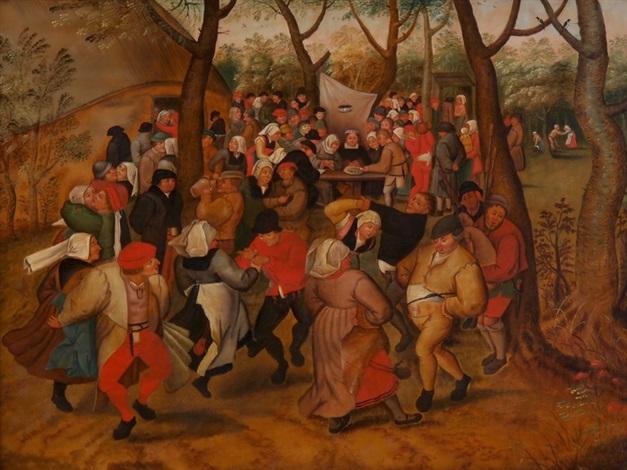 der hochzeitstanz by pieter brueghel the younger
