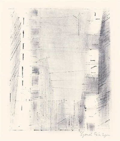 manhattan 3 by lyonel feininger