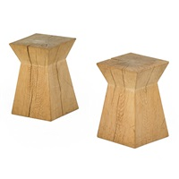 pair side tables by christian liaigre