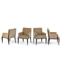 armchairs (set of 4) by christian liaigre