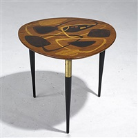 occasional table (+ cocktail table, lrgr; 2 pieces) by fabry