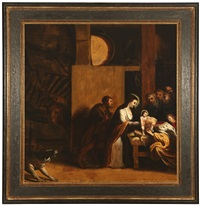 holy nativity scene by theodor van thulden